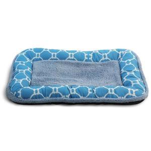 Лежанка для собак Triol Лазурный берег S, размер 55х36х5см., голубой