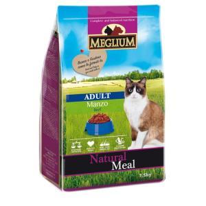 Корм для кошек MEGLIUM Cat Adult, 1.5 кг, говядина