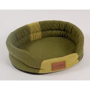 Лежак для собак Katsu Animal XL, размер 88х72см., хаки/зеленый
