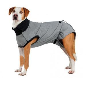 Попона для собак Trixie Protective Body XL, размер 50см., серый