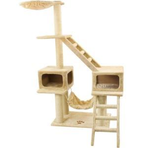 Игровой комплекс для кошек Triol, размер 80х61х166см., цвета в ассортименте