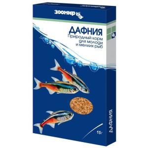 Корм для рыб Зоомир Дафния, 15 г