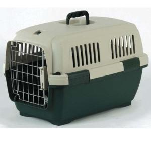 Переноска для собак и кошек Marchioro Clipper Cayman, размер 2, размер 57х37х36см., бежево-зеленый