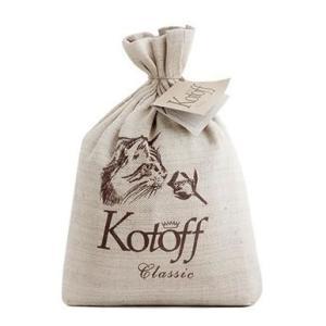 Наполнитель для кошек Kotoff Classic, 5 кг
