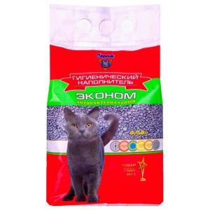 Наполнитель для кошачьего туалета Барсик Эконом, 3 кг