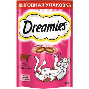 Лакомство для кошек Dreamies, 140 г, говядина