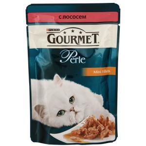 Корм для кошек Gourmet Perle, 85 г, лосось