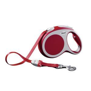 Поводок-рулетка для собак Flexi Vario Tape L, красный