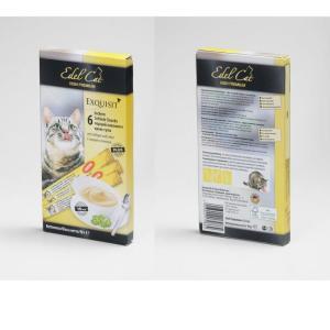 Лакомство для кошек Edel Cat High Premium, 15 г, птица и печень, 6 шт.