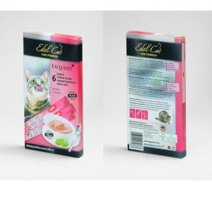 Лакомство для кошек Edel Cat High Premium, 15 г, лосось, 6 шт.