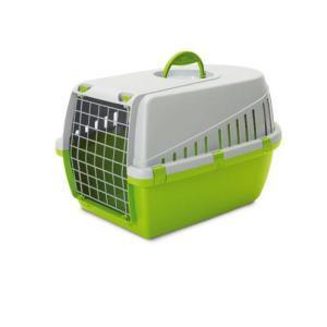 Переноска для собак и кошек Savic Trotter, размер 1, размер 49х33х30см., зеленый лимон