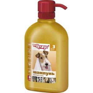 Шампунь-кондиционер для жесткошерстных собак Mr. Bruno Жесткий стиль, 350 мл