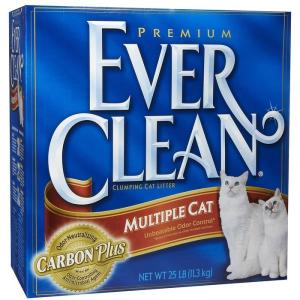 Наполнитель для кошачьего туалета Ever Clean Multiple Cat, 6 кг