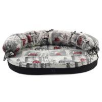 Фотография товара Лежак-диван для собак Гамма Фаворит Медиум, размер 2, размер 100х66х8см., цвета в ассортименте