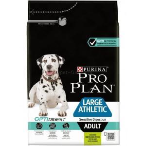 Корм для собак Pro Plan Adult Large Athletic, 3 кг, ягненок и рис