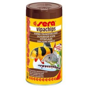 Корм для донных рыб и ракообразных Sera Vipachips, 90 г, 250 мл