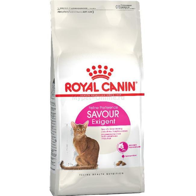 Купить Royal Canin Exigent 35/30 Savour Sensation корм для кошек, 400 г - Интернет зоомагазин MyPet-Online.ru