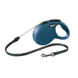 Поводок-рулетка Flexi New Classic S, синий