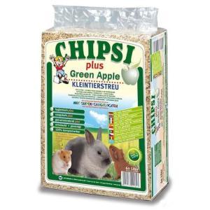 Наполнитель для грызунов Chipsi Plus Green Apple, 1 кг, 15 л