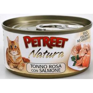 Консервы для кошек Petreet Natura, 70 г, куриная грудка с лососем