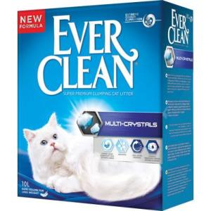 Наполнитель для кошачьего туалета Ever Clean Multi Crystals, 10 кг