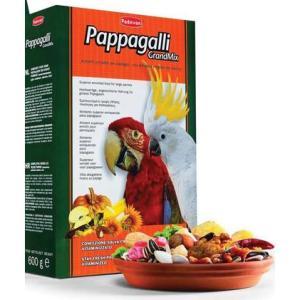 Корм для попугаев Padovan GrandMix Pappagalli, 600 г