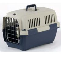 Фотография товара Переноска для собак и кошек Marchioro Clipper Cayman, размер 1, размер 50х33х32см., бежевый/синий
