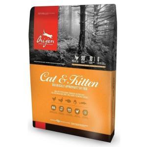 Корм для кошек и котят Orijen Cat & Kitten 80/20, 1.8 кг, курица с индейкой и рыбой