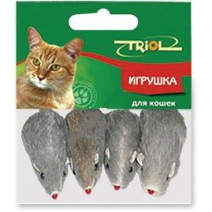 Игрушка для кошек Triol, 4 шт.