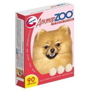 Витамины для собак Доктор Zoo, Ветчина