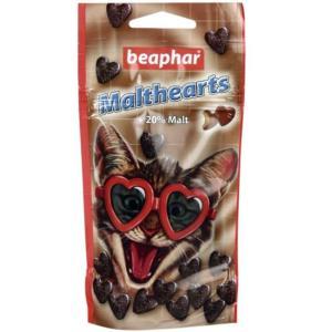 Лакомство для кошек Beaphar Malthearts, 75 г