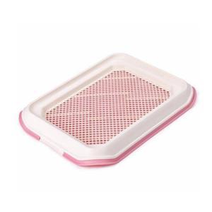 Туалет для собак Стандарт, размер 48.5х37.5см., розовый