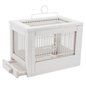 Клетка для птиц Дарэлл Ретро - Кантри, 2 кг, размер 47.5х27х32см., белый