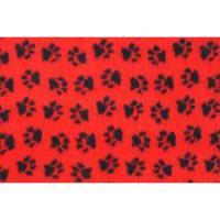 Фотография товара Лежак для собак и кошек ProFleece Ltd, размер 100х160см., красный/черный