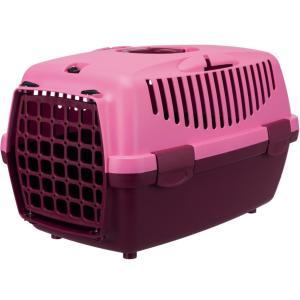 Бокс для собак Trixie Capri 2, размер 2, размер 55х37х34см., ягодный / розовый