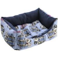 Фотография товара Лежак для собак Fauna International London Blue, 1 кг, размер 57х43х18см.