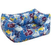 Фотография товара Лежак для собак и кошек Zooexpress Оригами №4, 500 г, размер 55х40х23см., лазурный