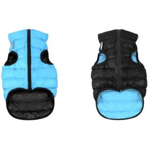 Куртка для собак AiryVest 1893 M, черно-голубой