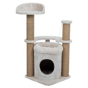 Домик-когтеточка для кошек Trixie Nayra, размер 40х40х83см., бежевый