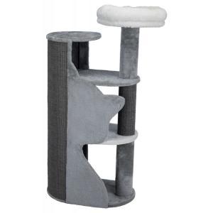 Домик-когтеточка для кошек Trixie Adele, размер 120см., серый / белый