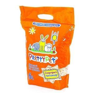 Наполнитель для грызунов Pretty Cat Pet, 2 кг