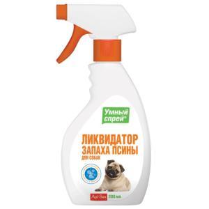 Ликвидатор запаха для собак Api-San Умный Спрей