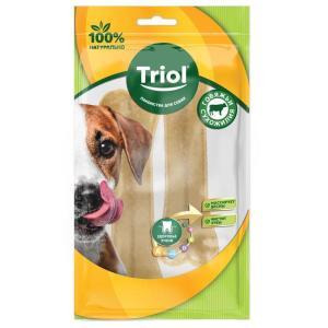Лакомства для собак Triol, 55 г, сыромятная кожа, 2 шт.