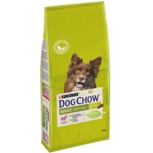 Корм для собак Purina Dog Chow Adult, 14 кг, ягненок