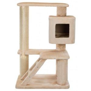 Домик-когтеточка для коше Trixie Josefa XXL, размер 77x57x119см., бежевый