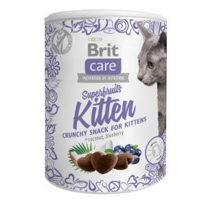 Лакомство для котят Brit Care Superfruits Kitten, 120 г, курица