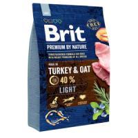 Фотография товара Корм для собак Brit Premium by Nature Light, 3 кг, индейка с курицей