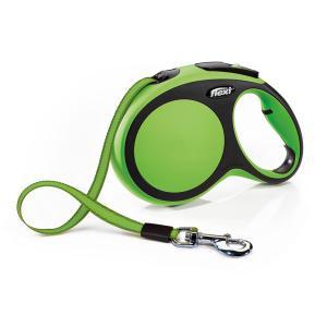 Поводок-рулетка для собак Flexi New Comfort M, зеленый