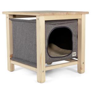 Домик для собак и кошек Triol Тумба, размер 50х50х50см.
