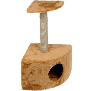 Домик-когтеточка для кошек Зоомарк, размер 35х35х55см., цвета в ассортименте